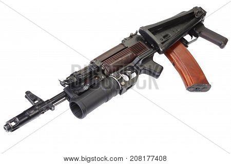 Kalashnikov Ak 74 With Gp-25 Grenade Launcher