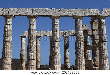 Temple Of Poseidon, Attica Peninsula, Greece