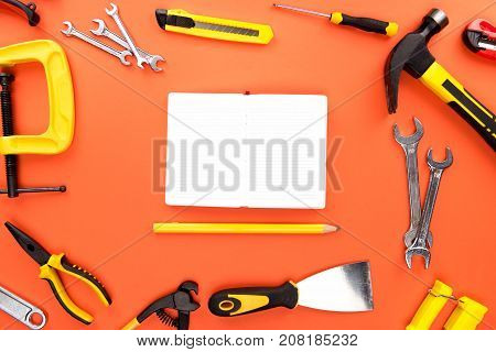 Open Notebook And Reparement Tools