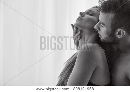 Lovers Enjoying Foreplay