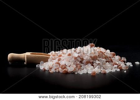 Spoon With Salt Crystals