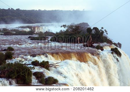 View Of Iguassu Falls