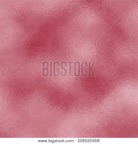Burgundy red glass texture. Maroon frosted square vector background. Vintage wine texture swatch. Red foil backdrop for elegant wedding invitation. Antique dark red wallpaper or banner template