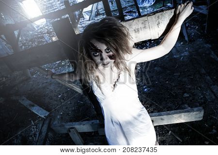 Mad Woman In A White Nightie