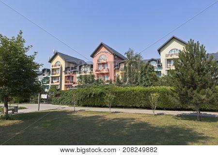 Anapa, Krasnodar region, Russia - July 23, 2017: Hotel