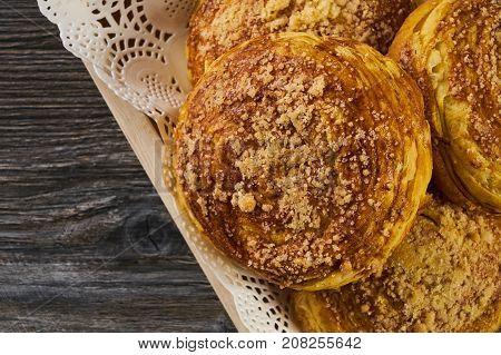 Homemade Azerbaijan National Pastry Gogal