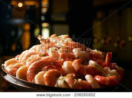 Delicious Grilled Tiger Shrimps