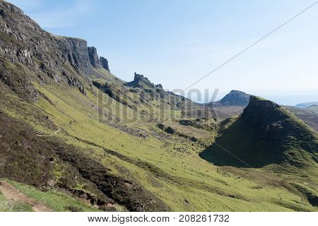 The Quiraing At Isle Of Skye, Scotland