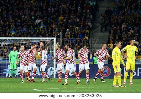 Fifa World Cup 2018 Qualifying: Ukraine V Croatia