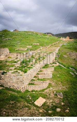 Remains of a Former Civilization in Pamukkale