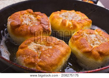 Preparation Of Dough And Baking Pies