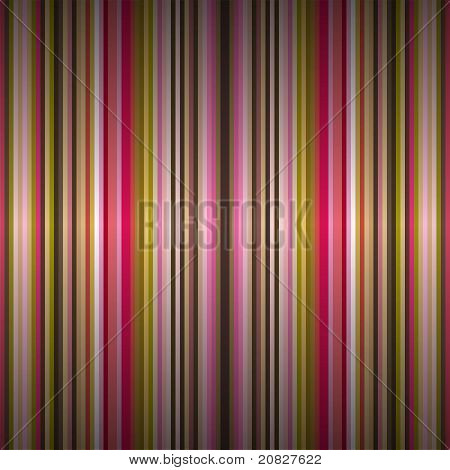 Background With Retro Stripes With Light Effect