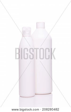 White Clean Standard Bottles For Professional Salon And Home Use Hair Products