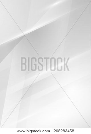 Gray simple light neutral lines background with stripes. Vector eps10.