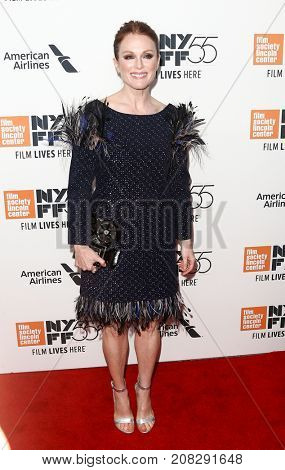 NEW YORK-OCT 07: Actress Julianne Moore attends the