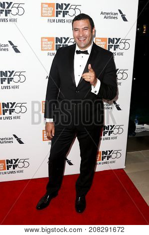 NEW YORK-OCT 07: Actor Raul Torres attends the