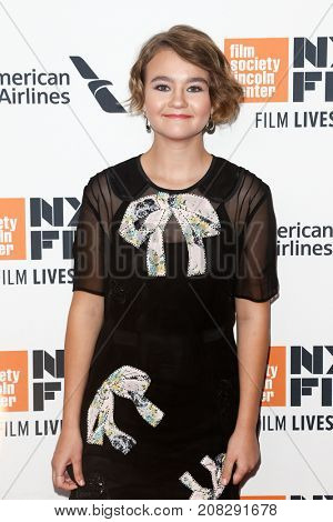 NEW YORK-OCT 07: Actress Millicent Simmonds attends the