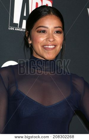 LOS ANGELES - OCT 7:  Gina Rodriguez at the 2017 Los Angeles Dance Project Gala at the LA Dance Project on October 7, 2017 in Los Angeles, CA