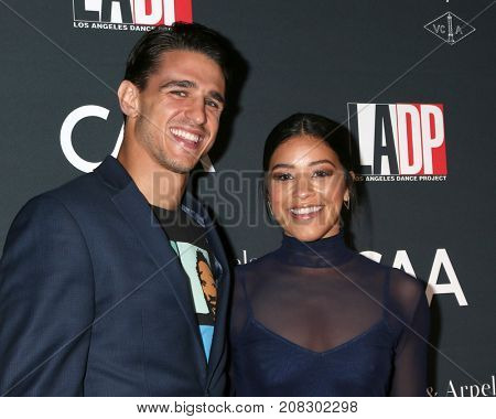 LOS ANGELES - OCT 7:  Joe LoCicero, Gina Rodriguez at the 2017 Los Angeles Dance Project Gala at the LA Dance Project on October 7, 2017 in Los Angeles, CA