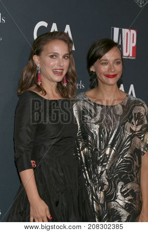 LOS ANGELES - OCT 7:  Natalie Portman, Rashida Jones at the 2017 Los Angeles Dance Project Gala at the LA Dance Project on October 7, 2017 in Los Angeles, CA