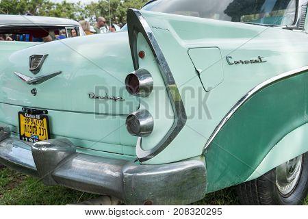 Dodge Coronet(1956) Presented On Annual Oldtimer Car Show, Israel