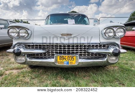 Cadillac Fleetwood Limousine (1966) Presented On Annual Oldtimer Car Show, Israel
