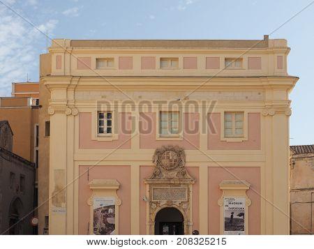 Municipal Museum In Cagliari