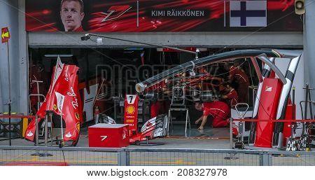 Kimi Raikkonen Of Finland And Scuderia Ferrari