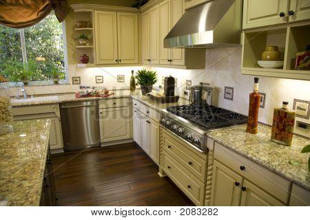 Kitchen Stove View