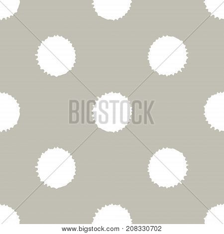 Seamless Pattern, Tile With Inc Splash, Blots, Smudge And Brush Strokes. Grunge Endless Template For