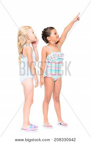 Adorable Kids In Swimsuits