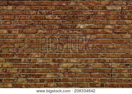 Brick background. Brick texture. Classic brown brick wall. Brown brick wall. Brickwork. Grunge brick wall. Brick wall.