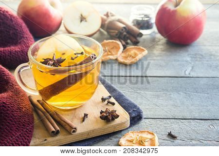 Hot Drink With Apple