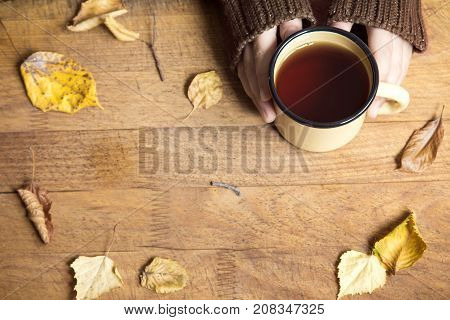 Hot Autumn Tea