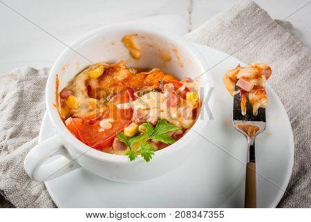 Pizza In Mug