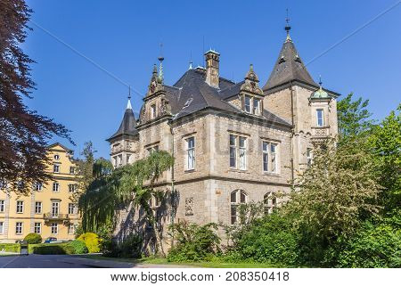 Historic Renaissance Buckeburg Palace Complex In Germany