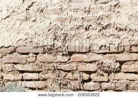 background of an old brick wall . Photo of abstract background