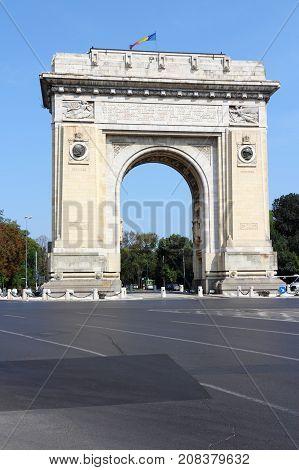 Romania Triumphal Arch
