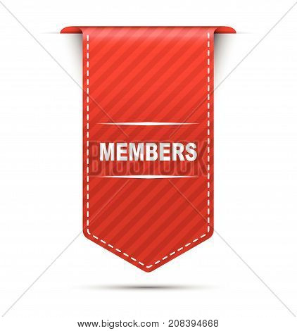 members sign members deisng members illustration members banner members element members eps10 members vector members