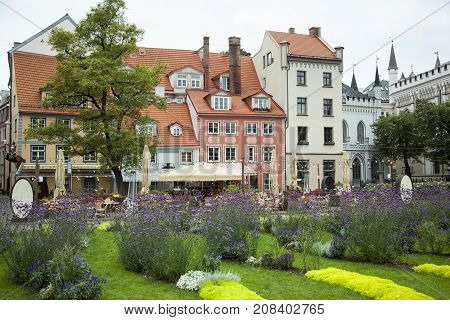 The Square of Livonians in Riga was named to honor Finnic ethnic nation indigenous to Latvia that officialy made extinct in 2013.
