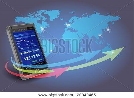 Financiële apps op Smartphone