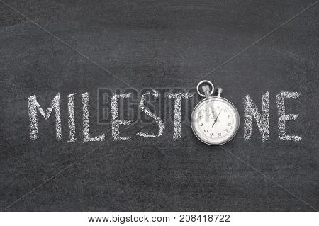 Milestone Word Watch