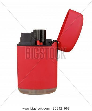 Plastic Gas Lighter - Red