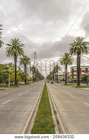 Boulevar Highway, Montevideo, Uruguay