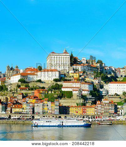 Porto In Sunny Day, Portugal