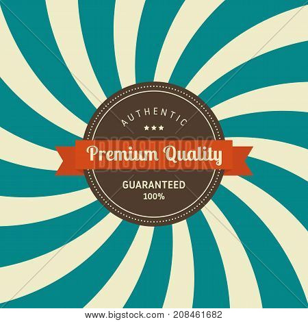 Abstract vintage retro badge and label banner design vector illustration