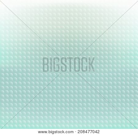 Abstract green pastels circle pixels background vector illustration frosted glass