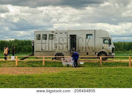 Transport For Horses With Trailer