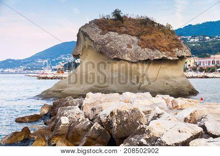 Famous Coastal Rock Il Fungo, Lacco Ameno