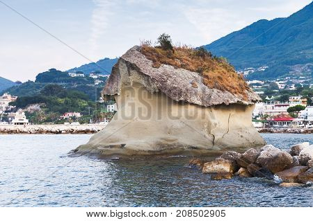 Il Fungo, Famous Coastal Mushroom Shaped Rock